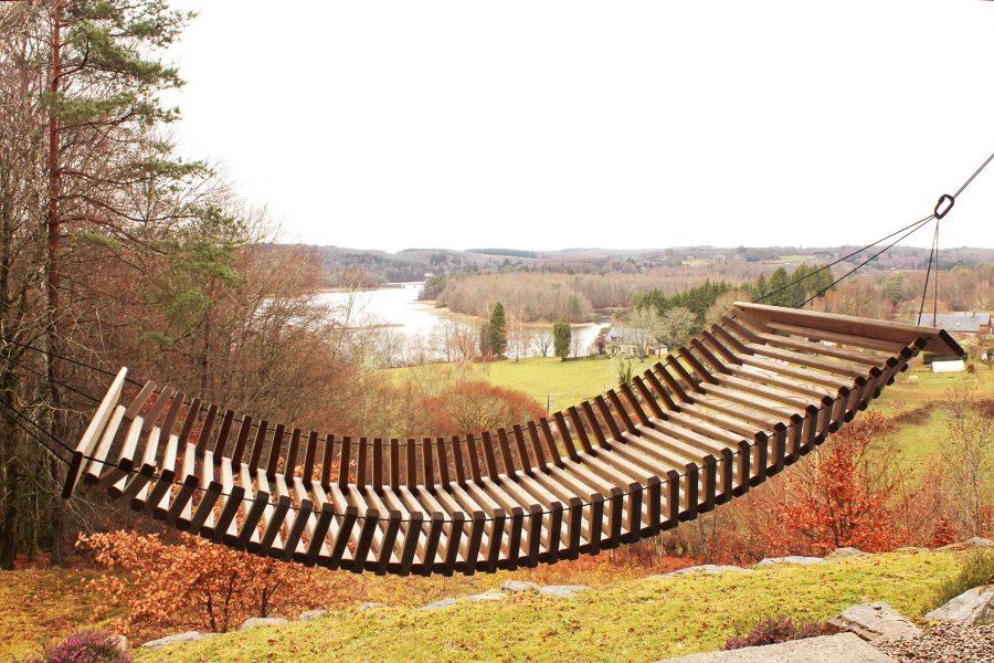 Wooden Hammock - FabsFurniture-Garden-Design