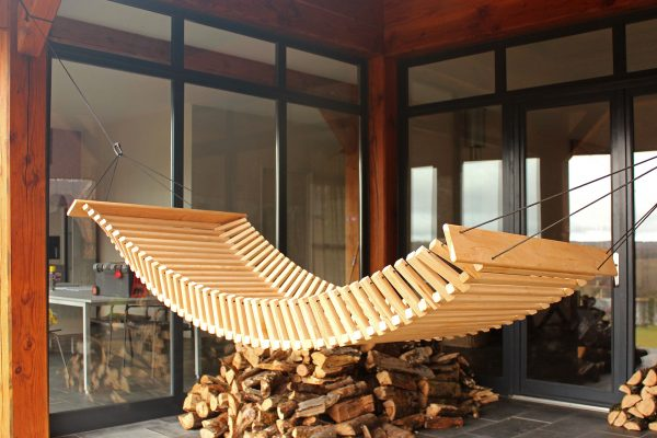 Wooden Hammock - FabsFurniture-Garden-Design-Hamac