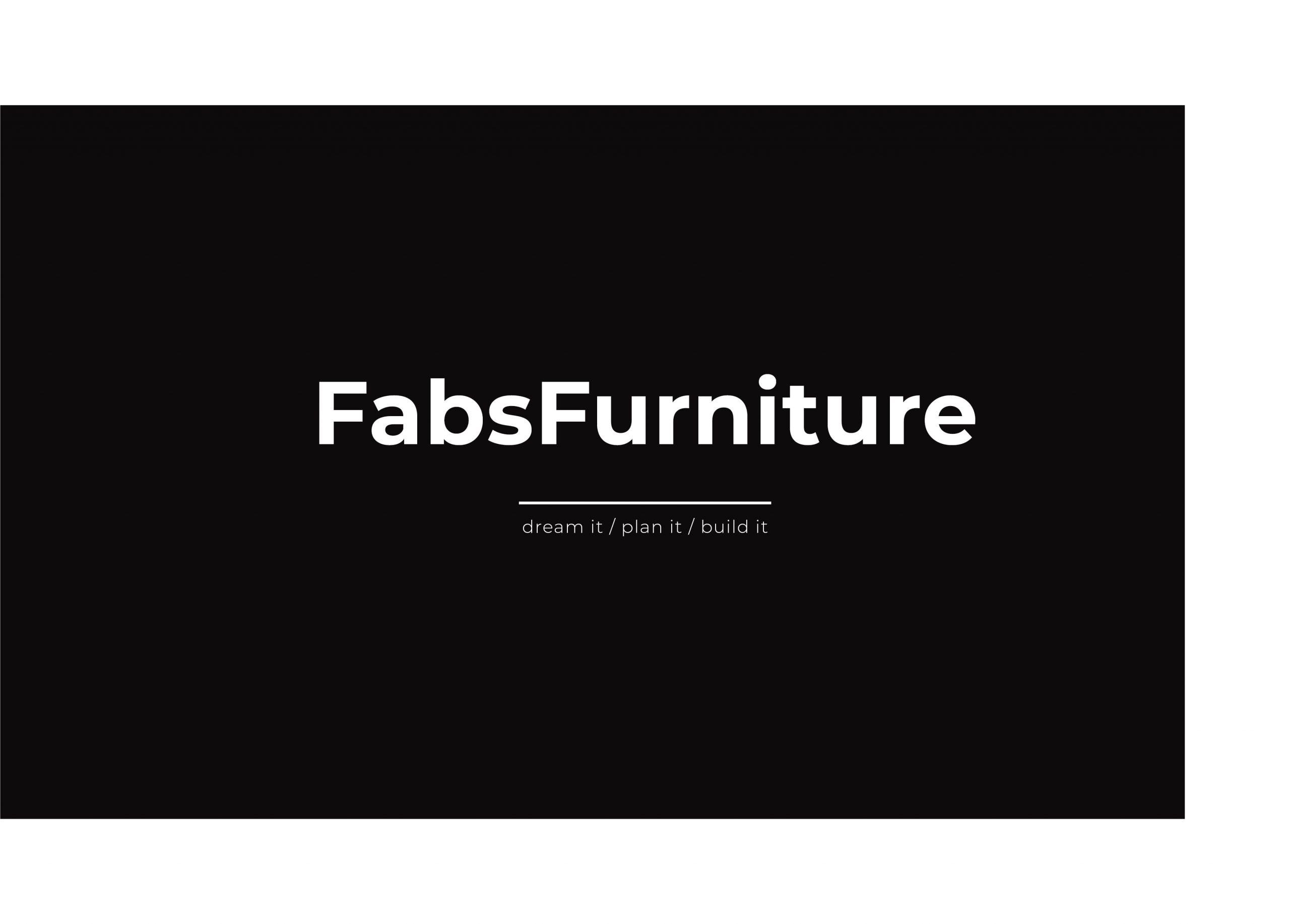 FabsFurniture - Design - Taiwan Portfolio - 2021 - wood design