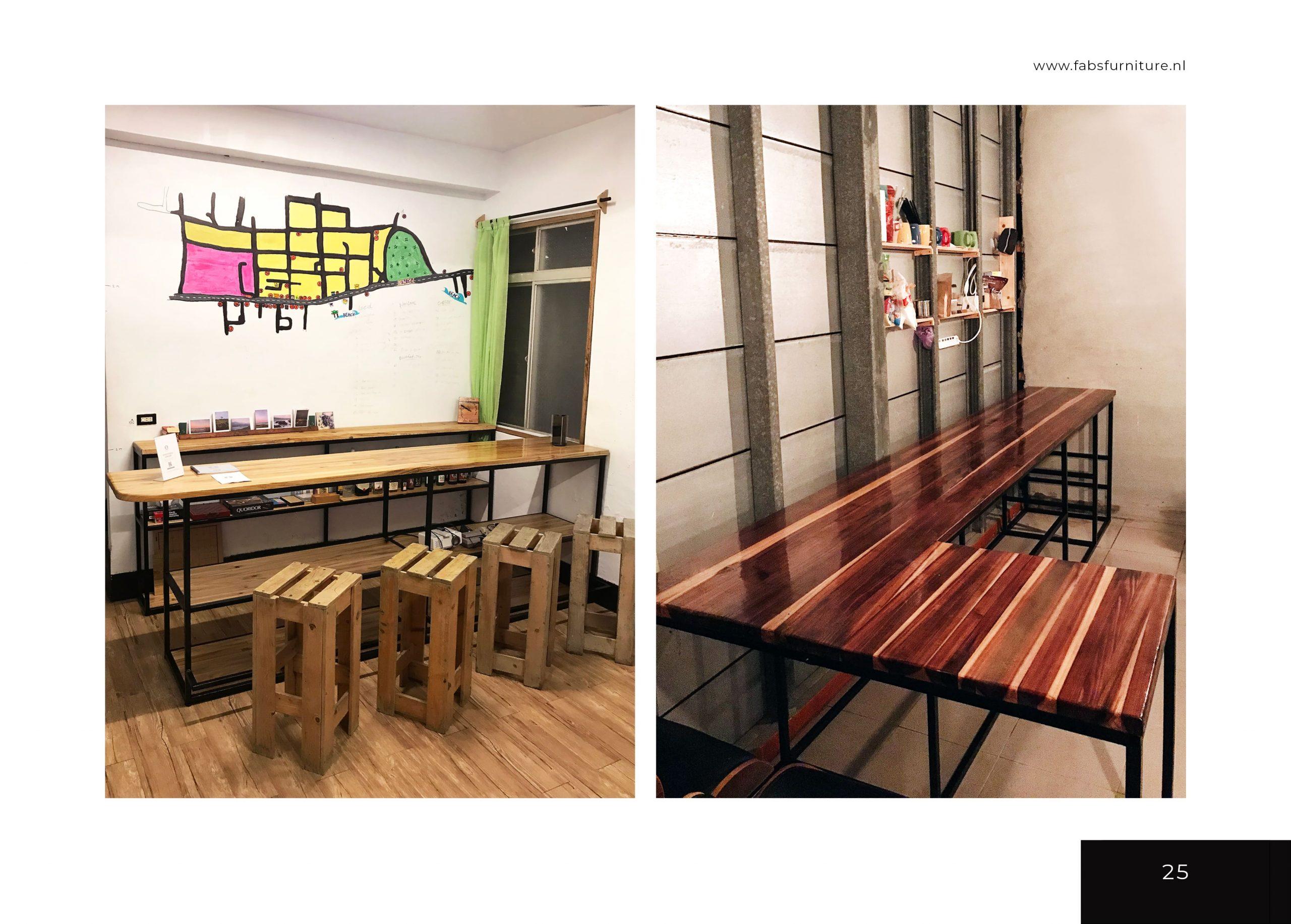 FabsFurniture Taiwan Portfolio - 2021 - Coffee bar design